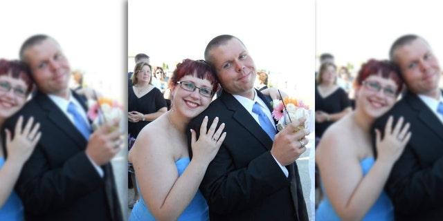 Sarah Baran and her husband