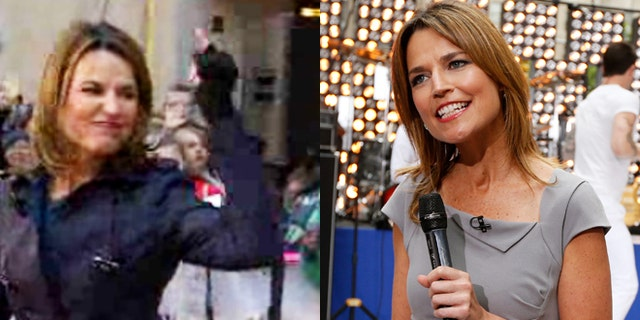 "Savannah Guthrie seemingly gave Matt Lauer the middle finger on ""Today."""