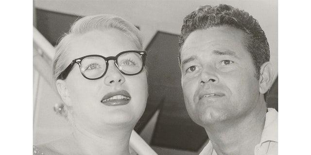 Barbara Payton and Tom Neal