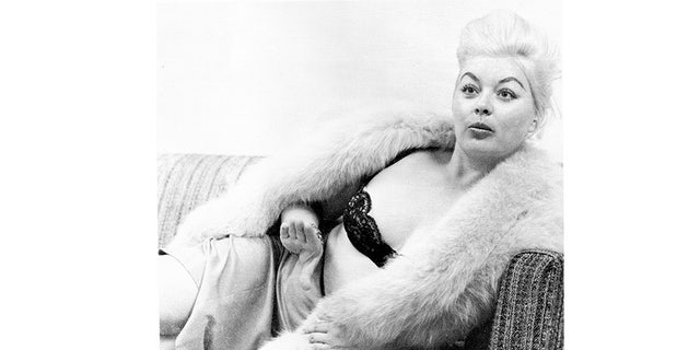 Barbara Payton in her later years.
