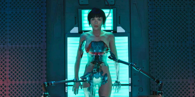 "Scarlette Johansson portrays an Asian woman in the 2015 film ""Ghost In The Shell."""