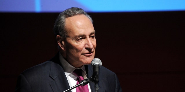 Sen. Schumer at the New School University Center Opening Showcase on January 23, 2014, in New York City.