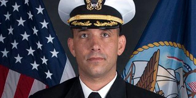 Navy SEAL Cdr. Job W. Price.
