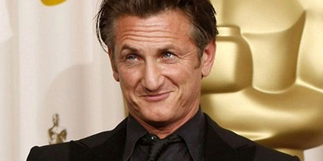 Actor Sean Penn