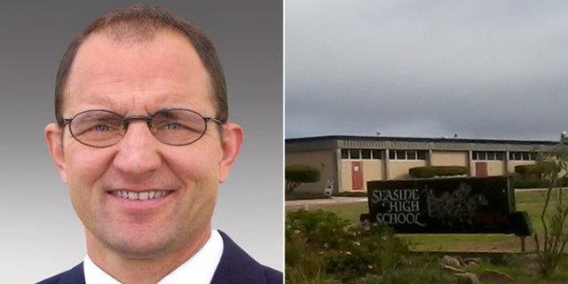 Dennis Alexander, a teacher at Seaside High School in California and a reserve officer with the Sand City Police Department, has been placed on administration leave after accidentally firing his gun during a class and reportedly injuring three students, officials said.