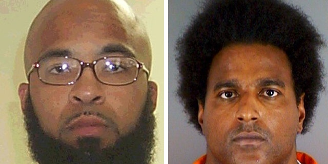 Authorities say Abu Khalid Abdul-Latif, right, and Walli Mujahidh were planning to attack a military recruitment center in Seattle.