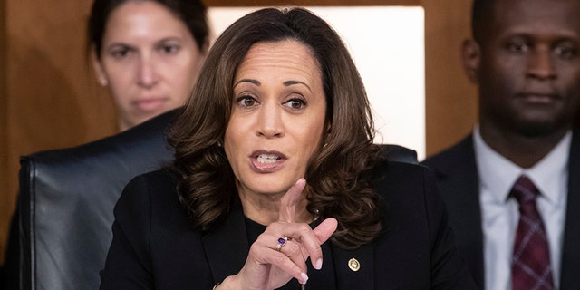 Seen as a potential 2020 presidential contender, Sen. Kamala Harris, D-Calif., garnered attention during Brett Kavanaugh's initial confirmation hearing with her intense questioning.