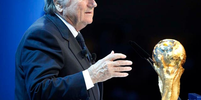 """Blatter said thruugh a representaive that the allegations made by Solo were, """"ridiculous."""""""