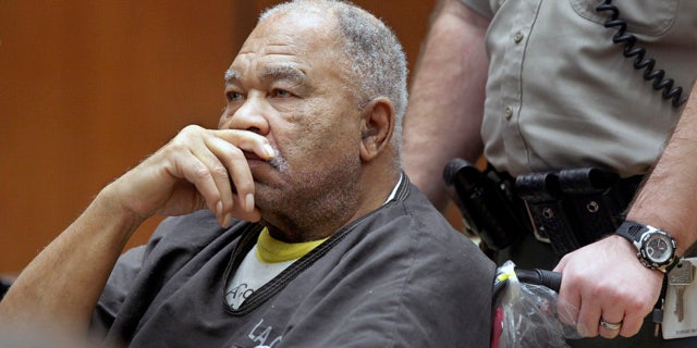 FILE - In this Monday, March 4, 2013 file photo, Samuel Little appears at Superior Court in Los Angeles.