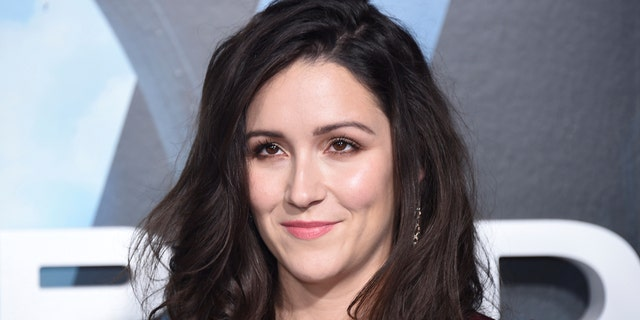 """Westworld"" star Shannon Woodward at the show's premiere."
