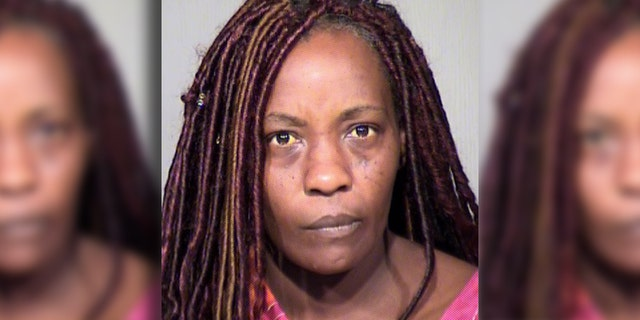 Sharron Dobbins, 40, was arrested Sunday for allegedly using a Taser on her 17-year-old son to wake him up for Easter church services.