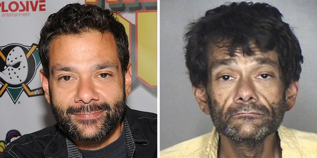"""Mighty Ducks"" star Shaun Weiss, seen left in a 2015 photo, was arrested for public intoxication over the weekend, Fox News can confirm."