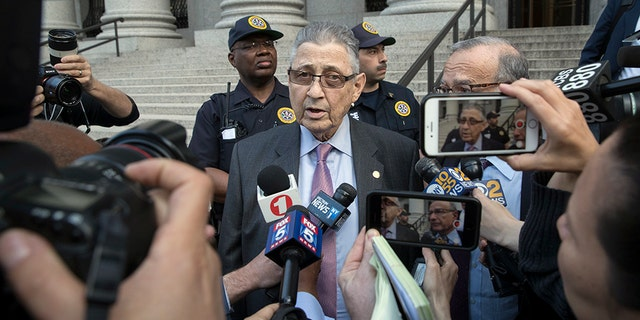 """Silver said after Friday's verdict that he felt """"disappointed."""""""