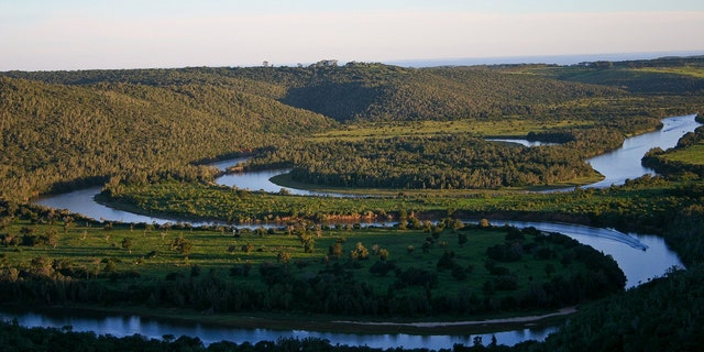 The Sibuya Game Reserve (pictured) is one of the more popular game reserves in the Eastern Cape and is home to Africa's 'Big Five' - lion, rhino, leopard, buffalo and elephant.