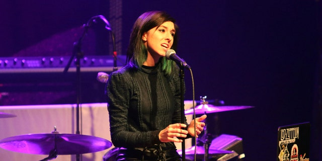 Christina Grimmie at Atlanta's Center Stage Theater on March 2, 2016.