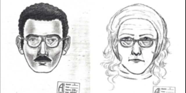 Composite sketches were released after a man and a woman stole a valuable de Kooning painting from the University of Arizona museum in 1985.