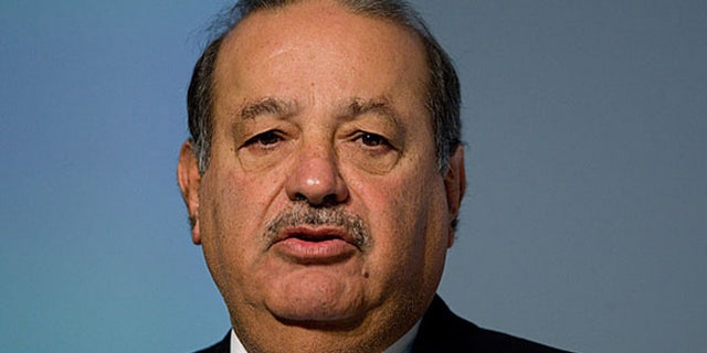 """The world's richest man""- Carlos Slim"