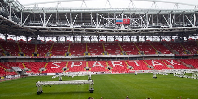 Spartak Stadium is located in Moscow and serves as the home of the Spartak Moscow soccer team.