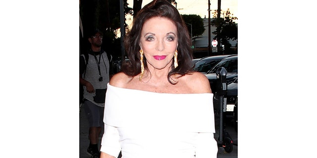 Joan Collins today.