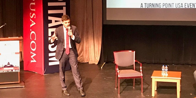 Kyle Kashuv introduced nearly every speaker at the four-day Turning Point USA event.