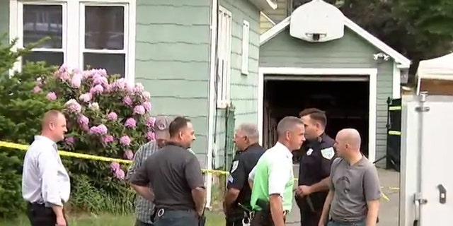 """Two bodies were found """"in and around"""" a Springfield, Massachusetts home after police responded to the house on Wednesday night. Late Thursday, authorities confirmed a third body had been found on the property."""