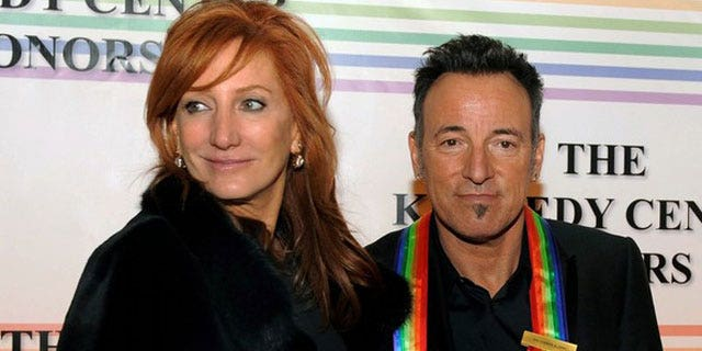 2010: Springsteen is seen at the Kennedy Center honors with his wife Patti Scialfa. He reportedly came between another couple's marriage after allegedly having an affair with a New Jersey woman named Ann Kelly.