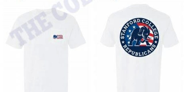 The Stanford College Republicans were initially denied the ability to use the American flag in their apparel designs.