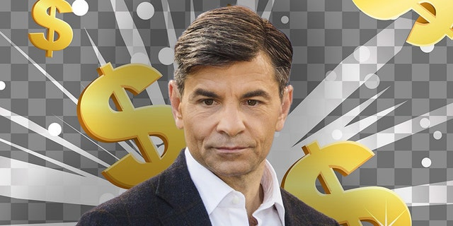 ABC's George Stephanopoulos reportedly earns $15 million dollars per year.