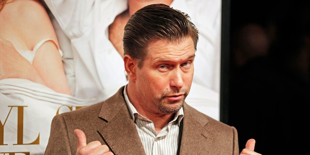 Stephen Baldwin arrives for the premiere of 'It's Complicated' in New York.