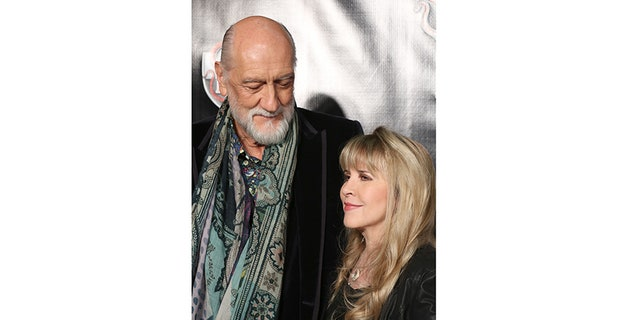 Stevie and Mick Fleetwood on Broadway in 2015.