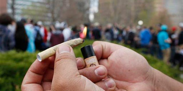 A joint is shown.