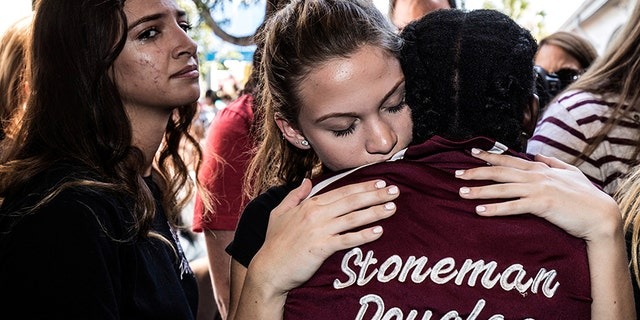 Officials said Thursday the resource deputy assigned to Marjory Stoneman Douglas High School in Parkland, Florida, never entered the building during Feb. 14's mass shooting.