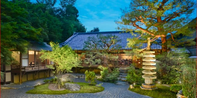 The exterior of Starwood's new 38-room Suiran Hotel in Kyoto.