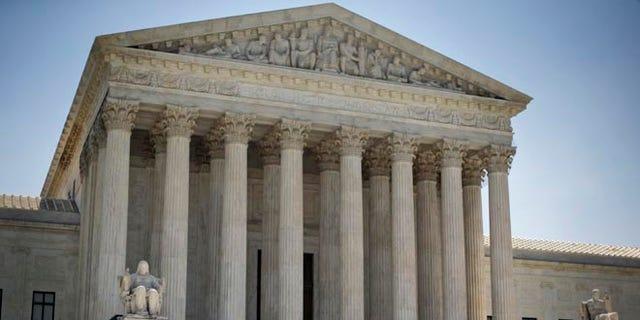 The Supreme Court building in Washington, Monday, June 30, 2014.