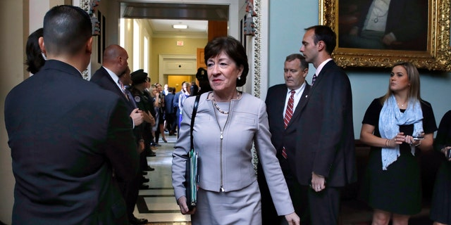 Sen. Susan Collins, R-Maine, came around to supporting the tax bill in the end.