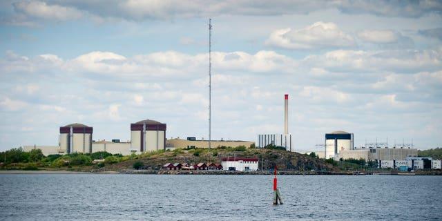 June 21, 2012: Sweden's Ringhals atomic power station near Varberg Sweden.