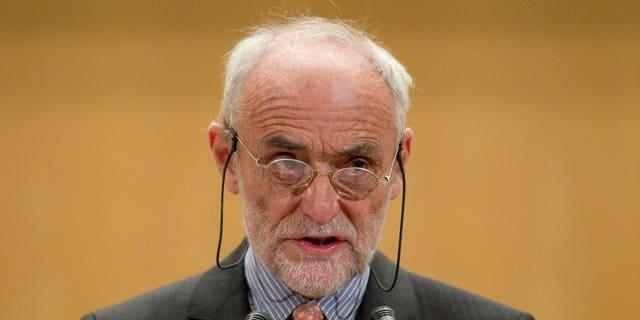 Nov. 29: Jakob Kellenberger, president of the International Committee of the Red Cross, speaks in Geneva.