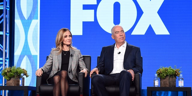 """Fox executives Dana Walden (l.) and Gary Newman (r.) revealed the network's successful X-Men based series, """"The Gifted,"""" will return for Season 2."""