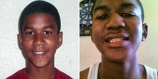 Trayvon Martin is seen, left, in a photo handed out by his family and widely circulated by the news media. Another photo, right, shows an apparently older Martin reportedly taken from his Twitter page.
