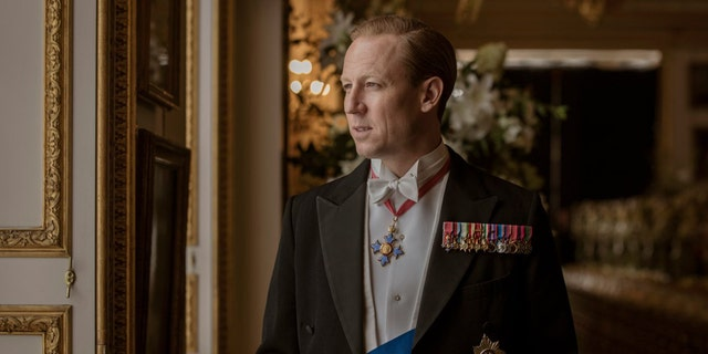 "Tobias Menzies as Prince Philip in the Netflix series ""The Crown."""