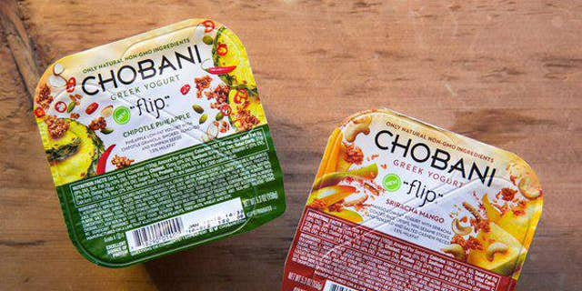 Chobani's spicy sweet yogurts don't quite hit the mark.