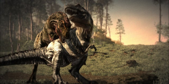 Scientists believe that bite marks show that the T. rex could have been a cannibal.