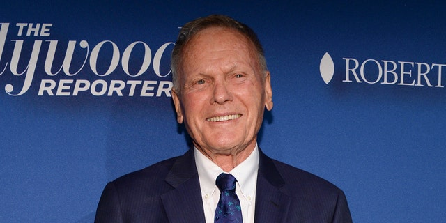 Tab Hunter arrives at The Hollywood Reporter's Academy Awards Nominees Night at Spago on February 8, 2016, in Beverly Hills, Calif.