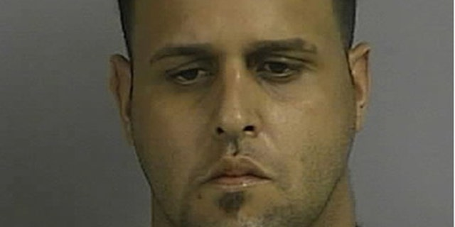 Jose Luis Delgado-Pastrana allegedly robbed an elderly woman while driving his car and dragged her.