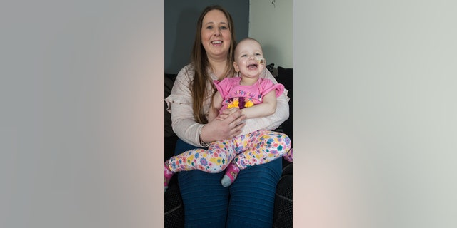 After two rounds of chemotherapy and a bone marrow transplant, Tazmin is in remission.