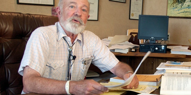 Aug 28, 2013: Montana District Judge G. Todd Baugh reads a statement apologizing for remarks he made about a 14-year-old girl raped by a teacher in Billings, Mont.