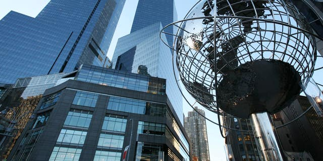 In this 2008 file photo, the Time Warner Center is shown in New York.