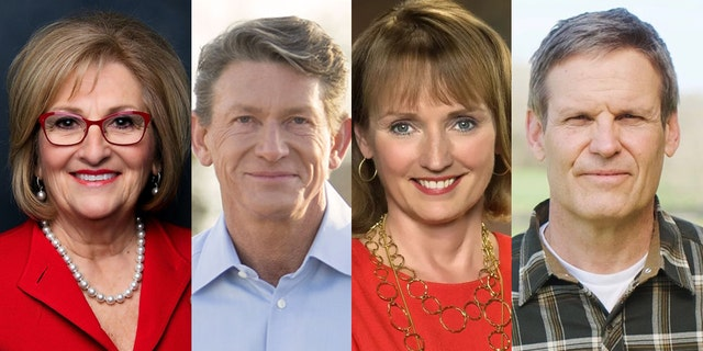 Businessman Bill Lee (right) beat out Rep. Diane Black, businessman Randy Boyd and state Rep. Beth Harwell for the Republican nomination in the Tennessee gubernatorial race.