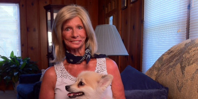 Terrie Hall, shown here in 2012, was a tireless anti-smoking advocate after being diagnosed with throat cancer. (Serrie)