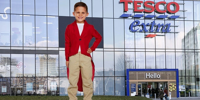 """Tesco was slammed on social media over a """"red fox hunter jacket"""" aimed at children with parents claiming it was """"encouraging children to take up a highly cruel animal bloodsport."""""""